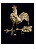 Feathered Rooster and Arrow Weathervane, 19th Century Prints