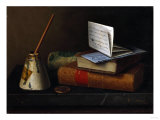 Still Life with Letter to Mr. Lask, 1879 Posters by William Bradford