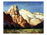 Canyon Landscape Giclee Print by Franz Arthur Bischoff