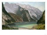 Alpine Lake Giclee Print by David Gilmour Blythe