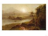 Mountain Landscape Giclee Print by William Bradford