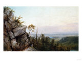 Rocks and Landscape Posters by Frederic Edwin Church