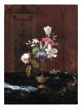 Vase of Mixed Flowers, Circa 1865-1875 Giclee Print by David Gilmour Blythe