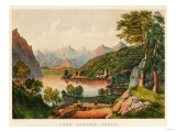 Lake Lugano, Italy Prints by Mary Cassatt