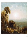 Sunset in the Adirondacks Reproduction procédé giclée par William Bradford
