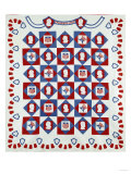 Out of Many, One', 'E Pluribus Unum', National Motto Coverlet, 1910 Art