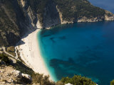 Myrtos Beach, the Best Beach for Sand Near Assos, Kefalonia (Cephalonia), Ionian Islands, Greece Photographic Print by  R H Productions