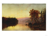 Greenwood Lake at Twilight, 1873 Giclee Print by William Bradford