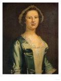 Mrs. Margareta Van Wyck Schuyler, 1750 Giclee Print by Robert Blum
