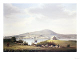 Blue Hill, Maine Giclee Print by Frederic Edwin Church