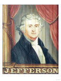 An Important Tavern Sign Depicting Thomas Jefferson and James Madison Giclee Print by Dirk Van Erp