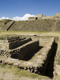 Water Cistern, the Ancient Zapotec City of Monte Alban, Unesco World Heritage Site, Oaxaca Photographic Print by  R H Productions