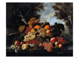 The Abundance of Fruit Prints by William Bradford