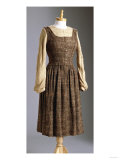 A Dress Worn by Julie Andrews as Maria for the 'Doe-A-Deer' Song Scene in the Sound of Music, 1965 Digitálně vytištěná reprodukce