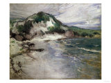 Beach at Squam Giclee Print by Thomas Jones Barker