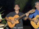 Musicians at Hotel Punta Islita, Punta Islita, Nicoya Pennisula, Pacific Coast, Costa Rica Photographic Print by  R H Productions