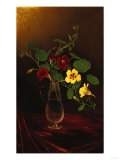 Nasturtiums in a Vase, Circa 1865-1875 Giclee Print by David Gilmour Blythe