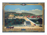 A View of Schuylkill County Almshouse, Circa 1880 Giclee Print by John Bachman