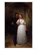 The Rejected Suitor, 1862 Giclee Print by Thomas Birch