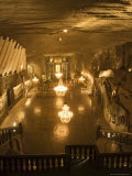 The Cathedral in the Wieliczka Salt Mine, Unesco World Heritage Site, Near Krakow (Cracow), Poland Photographic Print by R H Productions