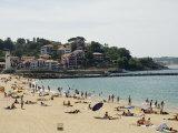 The Beach at St. Jean De Luz, Basque Country, Pyrenees-Atlantiques, Aquitaine, France Photographie par  R H Productions