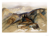 Distant Peaks, 1873 Giclee Print by John James Audubon