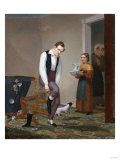 The Clumsy Boarder Giclee Print by Thomas Birch