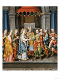 Marriage of the Virgin, 1750 Giclee Print by Emilio Boggio