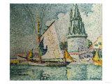 The Voyage of the Four Sergeants at La Rochelle, La Tour De Quatre Sergents, La Rochelle, 1927 Art by Eugène Boudin