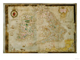 A General Description of England and Ireland, 1564 Giclee Print by Henry Thomas Alken
