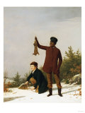 The Trappers, 1850 Giclee Print by James Goodwin Clonney