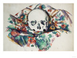 Skull on a Curtain, Circa 1902-1906 Giclee Print by Joseph Bail