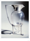 A Hukin and Heath &#39;Crow&#39;s Foot&#39; Electroplate and Glass Decanter, 1879 Giclee Print by Adler &amp; Sullivan 