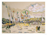 Geneva. Geneve. Paul Signac (1863-1935) Lmina gicle por Frederick Arthur Bridgman