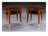 A Pair of Ebene-De-Macassar Side Tables, Circa 1925 Giclee Print by Daum