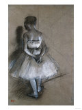Dancer Standing, Her Hands Crossed Behind Her Back, 1874 Giclee Print by David Gilmour Blythe