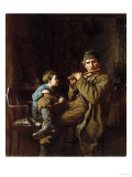 The Earnest Pupil, 1881 Giclee Print by Hendrik Avercamp