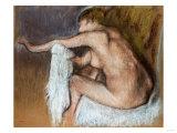 Woman Drying Her Arm, Circa 1884 Poster by Edgar Degas
