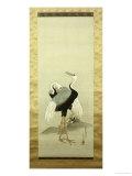 Cranes Prints by Suzuki Kiitsu