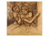 Deux Danseuses Poster by Frederick Arthur Bridgman