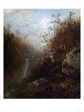 Glenellis Falls, New Hampshire Prints by Eugène Boudin