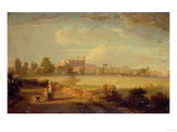 A View of Eton from the Playing Fields, 1822 Prints by Sir William Beechey