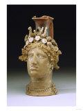 A 'Head'Oinochoe Vase Depicting Persephone, Circa 4th-3rd Century B.C Poster