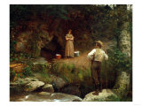 Early Lovers Posters by Eastman Johnson