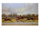 A Steeplechase Prints by Carl Frederic Aagaard