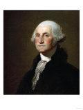 George Washington Print by Eugène Boudin