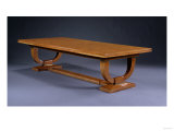 An Amboyna and Gilt-Bronze Dining Table, 1930 Giclee Print by Daum