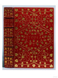 A Crushed Red Levant Morocco Gilt Binding of Utopia by Sir Thomas More. Kelmscott Press, 1893 Reproduction procédé giclée par Henry Thomas Alken