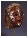 A Fine Chokwe Mask Giclee Print