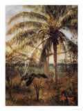 Palm Tree, Nassau, 1892 Prints by Albert Bierstadt